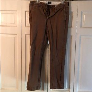 J Crew urban slim broken in pants